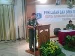 Foto: Sambutan Bpk. Walikota Jakarta Timur, Drs H. Murdhani, MH