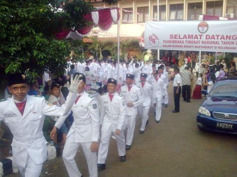 Selamat Jalan Paskibraka Nasional 2009