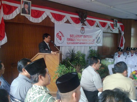 Sambutan Bpk. Drs. H. Erlangga M.Si