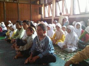 Acara Buka Bersama undang Anak Yatim